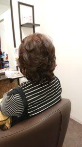 60代 艶髪セミロング✨