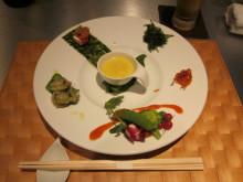 素材にこだわった韓国創作料理