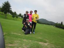 松本深圧院 松本先生と ゴルフ 股関節患者