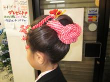 日本髪で七五三・去年の記事です。