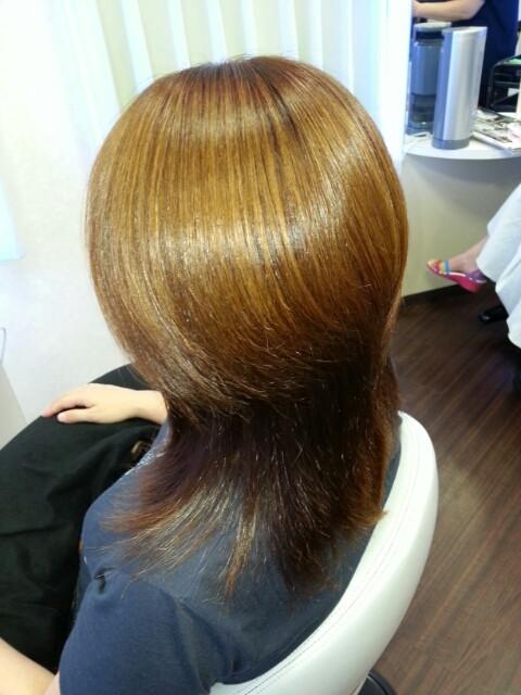 紫外線ダメージからのツヤツヤ髪