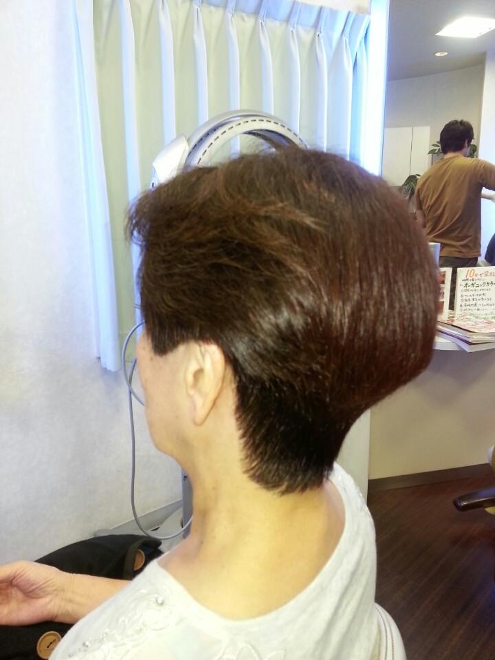 白髪のお手入れは、頭皮ケアも必要です。