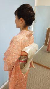 七五三詣り ママの着物