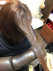 増毛エクステってこんな感じです。